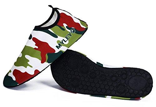 Surf A Sapatos Unissex Sapatas Do 45 Sapatos Praia Tamanho Verde Panegy Para De Camuflagem Sapatos Homens Mulheres 36 E Azul Aqua Banho De vvzUtwWq