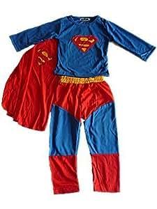 King Kong Déguisement Superman pour enfant 3 pièces 3-4 ans