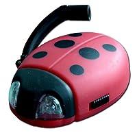 Ladybug Lampe De Poche Dynamo Coccinelle 2 Led de Powerplus