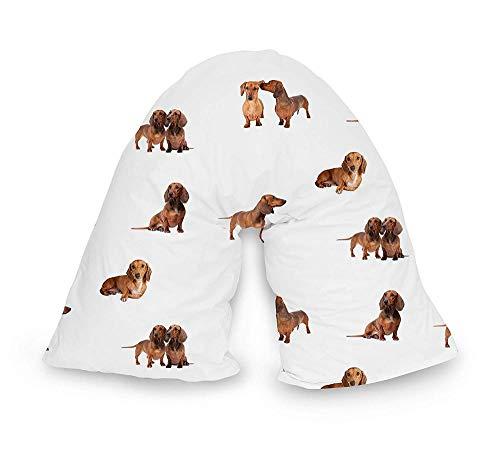 BaoQia Nackenkissen - bequemes Kissen für die Heimpflege Bettwäsche-Dog 2
