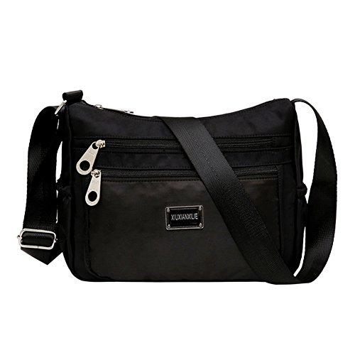 Sacchetti di nylon/borsa a tracolla Incline/Panno impermeabile luce ultra grande capacità/Borsa a tracolla casual-F F