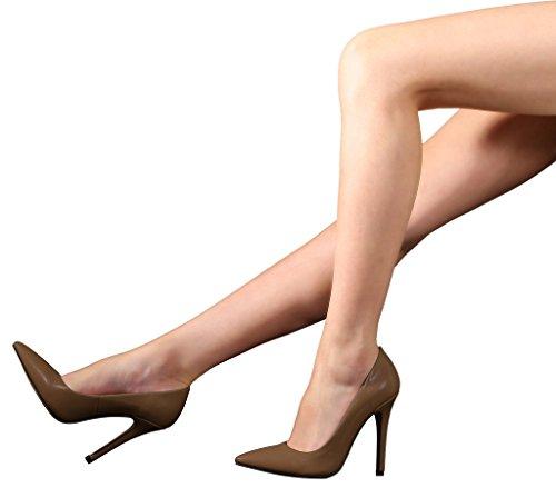 Guoar - Scarpe chiuse Donna Marrone (marrone)