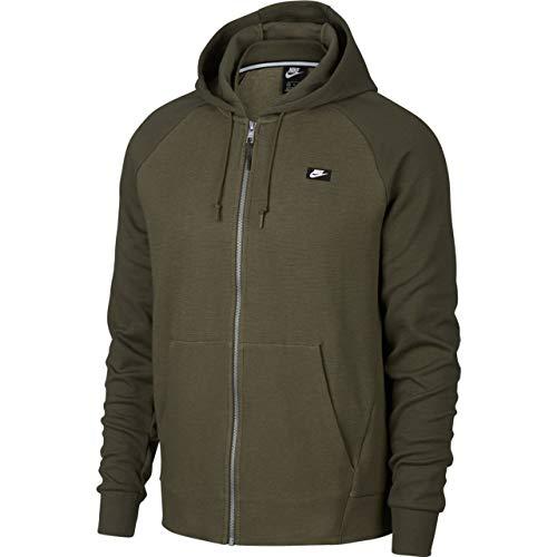 Nike Herren Optic Full Zip Hoodie, Olive Canvas/Htr, M 4 Zip Hoodie