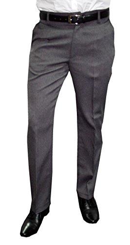 Mens Fashion Herren Anzughose in der Farbe Grau Größe 29 (Herren Farbe Anzug Grau,)