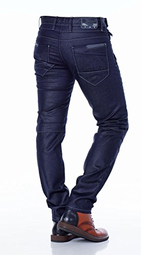 Cipo & Baxx Homme Jeans / Jeans Straight Fit Tight Bleu