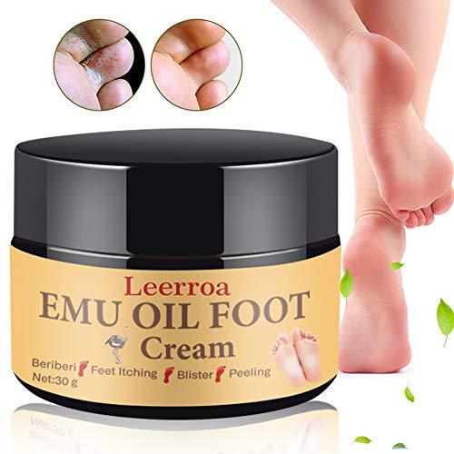 Fußcreme,Fusscreme,Fußpflege Creme,Fusspflege Creme,Emu Öl Fußcreme für Erweicht Fußpflege