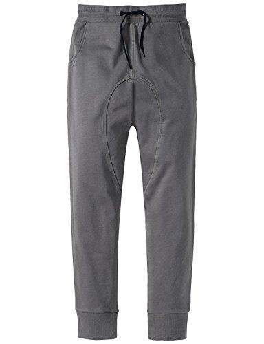 Schiesser Jungen Schlafanzughose Mix & Relax Joggpants Grau (Grau 200), 164 (Herstellergröße: M)
