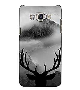 Fuson Designer Back Case Cover for Samsung Galaxy On Nxt (2016) (Rain Deer Horn View)