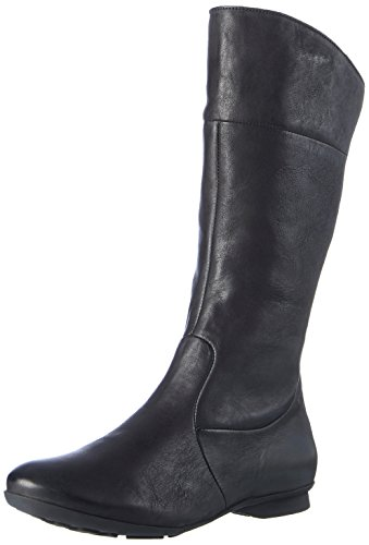 Think Damen KESHUEL_181119 Stiefel, Schwarz (Schwarz 00), 39 EU