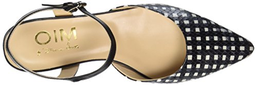 Objects in Mirror W034, Mary Jane femme Multicolore - Mehrfarbig (BIANCO/NERO)
