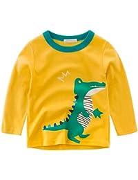 f752b04aae492 Amazon.fr   Jaune - T-shirts à manches longues   T-shirts, polos et ...