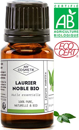 Huile essentielle de Laurier noble BIO - MyCosmetik - 10 ml