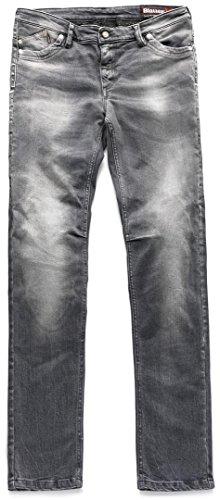 Blauer Scarlett Damen Jeans Hose Grau 26