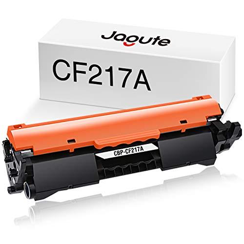Jagute - Cartucho de tóner con Chip Compatible con HP CF217A 17A para HP Laserjet Pro M102w M102a M102, HP Laserjet Pro MFP M130fn M130a M130nw M130fw M130, Color Negro