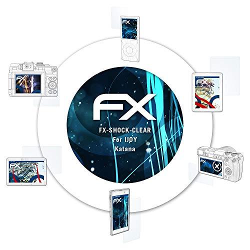 atFoliX Schutzfolie kompatibel mit IJOY Katana Panzerfolie, ultraklare und stoßdämpfende FX Folie (2X)