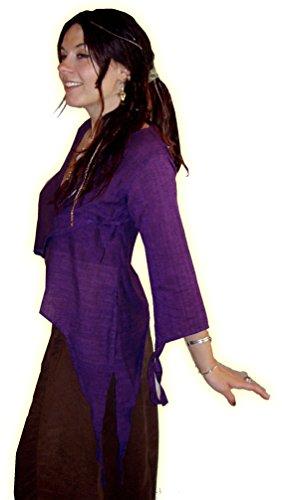 LOTUS MOON -  Maglia a manica lunga  - Donna Purple