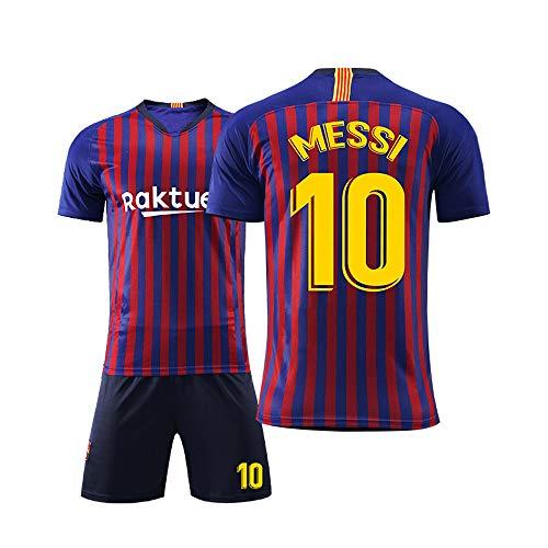 rren Erwachsene Kinder Fußball Tragen Jersey Sets Barcelona Club 10