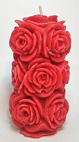 Scented Designer Rose Candle by Scentiments, Gift for lovers, Showpiece for Gift,...