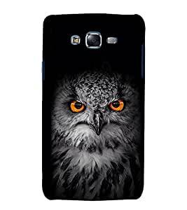 EPICCASE Intense Owl Mobile Back Case Cover For Samsung Galaxy J7 (Designer Case)