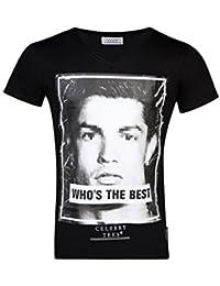 Celebry Tees T-shirt Cristiano Ronaldo Homme