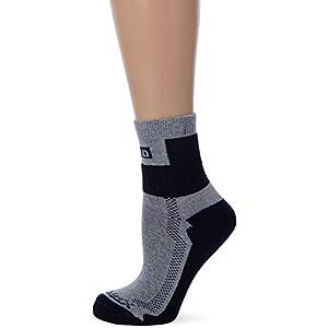 MUND Nordic Walking Socke Trekking, Damen, Navy, S (34–37)
