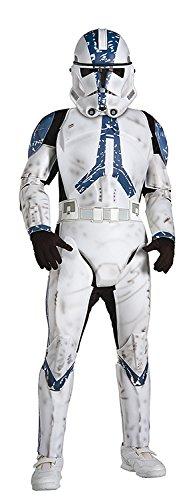 Kostüm Clone Trooper Star Wars 501st Legion deluxe Kind - M - 128cm (Star Wars Clone Trooper Kostüme)