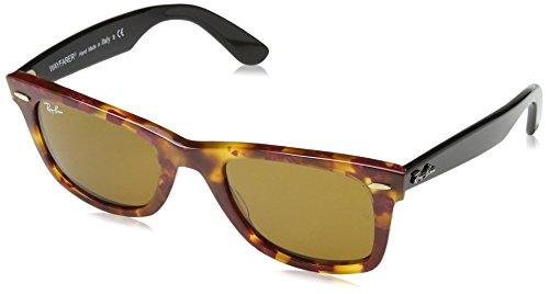 Ray-Ban Unisex-Erwachsene Wayfarer Sonnenbrille, Rot (1161), 50 mm