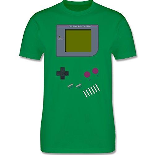 Nerds & Geeks - Gameboy Shirt - Herren Premium T-Shirt Grün
