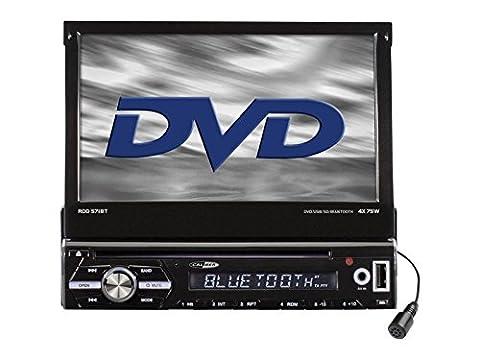 Caliber Radio Auto 1 DIN ausfahrbar Bluetooth DVD passend für Mercedes C Klasse W203 S203 CL203 5/00 >