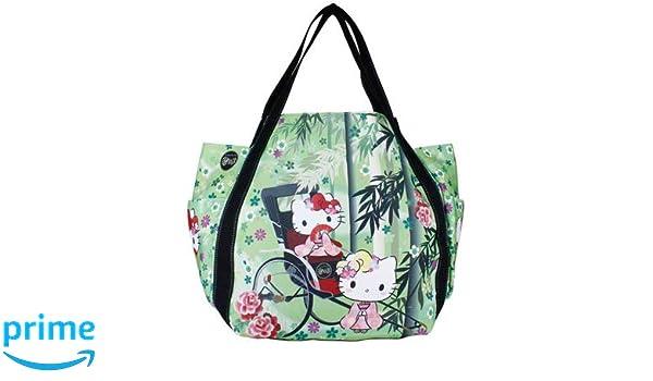 30x49x22cm Bamboo Forest 4001 Sac /à Main Sac fourre-Tout pour Les Filles Mod/èles Japonais Sanrio Hello Kitty Import Japon