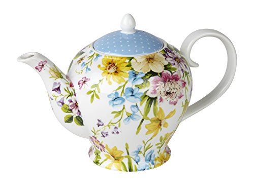 CREATIVE TOPS Katie Alice English Garden Shabby Chic 6 Cup Porcelain TEAPOT