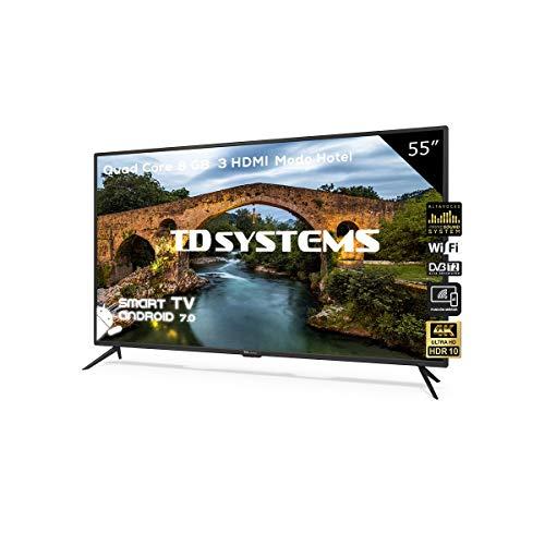 Televisor Led 55 Pulgadas Ultra HD 4K Smart