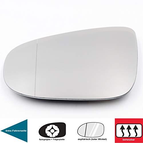 Weitwinkel linke Fahrerseite Kimiss Premium Qualit/ät Au/ßenspiegelglas Au/ßenspiegelglas
