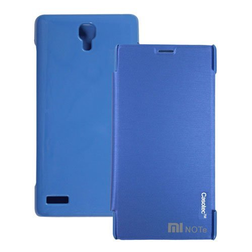 Casotec Premium Flip Case Cover for Xiaomi Redmi Note - Sky Blue  available at amazon for Rs.189