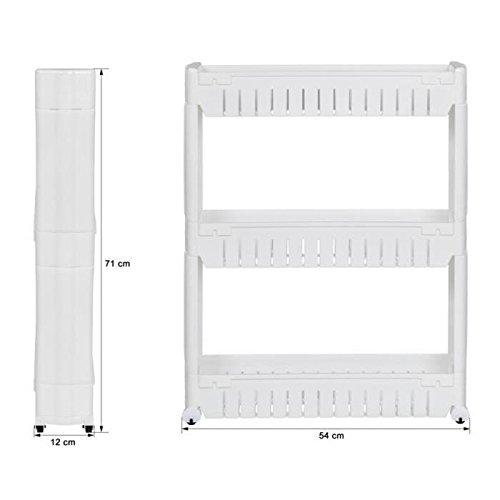 Regalböden Kunststoff mit 3 Schicht modern Entwurf Korbregal ideal für Bad & Küche