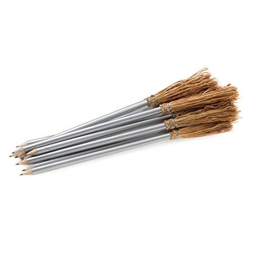 12 Bleistift Besen - 26 cm - Farbe ()