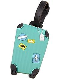 Etiqueta para equipaje,Tongshi viajar identificatoria tarjetero maleta etiqueta la etiqueta para equipaje bolso maleta