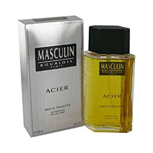 Bourjois Paris Masculin Acier Eau De Toilette 100 ml (man)