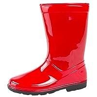 Lora Dora Kids Mid Calf Wellington Rain Boots