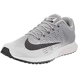 Nike Air Zoom Elite 9, Zapatillas de Deporte para Hombre, (White/Dark Grey-Wolf 100), 44 EU