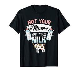T-Shirt Vegan Milch Veganer Veganerin Tier Tierliebe Spruch T-Shirt