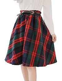 Suchergebnis auf Amazon.de für: wollrock knielang: Bekleidung