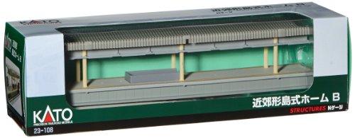 Kato - Juguete de modelismo ferroviario N Escala 1:220