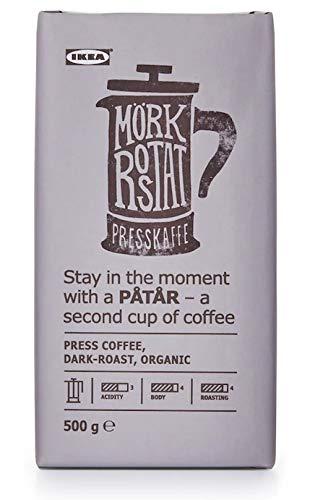 PÅTÅR Ikea Kaffee für -zubereiter dkl Röstung, biologisch, Arabicabohnen, 500g UTZ-zertifiziert
