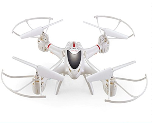 Preisvergleich Produktbild MJX X400-V2 2.4G 4Ch RC Drone Quadcopter 6 Axis Gyro UAV 3D Roll Auto Return Headless Helicopter (White)