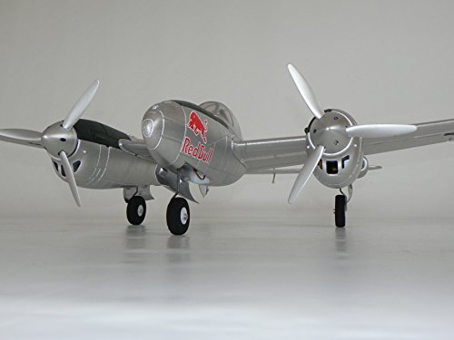 Flitework - Flwa4120 - Radio Control de Avión - P-38 Lightning Flying Bulls - 1465 Mm