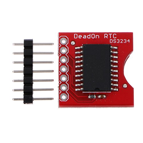 MagiDeal DS3234 Ultra Hoch Real Time Clock Memory Modul mit Nadel für Arduino (Memory Clock)