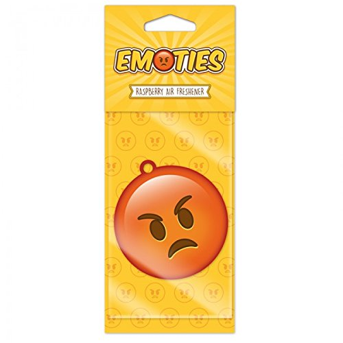 Accessori Auto STOCK 6 PEZZI Design Emoji Emoticon Deodorante per auto Sorriso arrabb