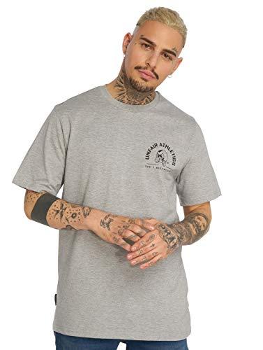 Unfair Athletics Punchingball Hybrid T-Shirt Herren grau/schwarz, L