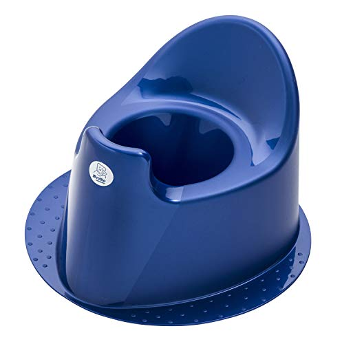 Rotho Babydesign TOP Kindertopf, Mit standfestem Fuß, Ab 18 Monate, TOP, Royal Blue Pearl (Dunkelblau), 200030265